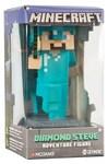 """Minecraft - Diamond Steve Adventure Figures Series 1 (4"""" Tall)"""