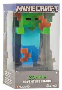 "Minecraft - Flaming Zombie Adventure Figures Series 1 (4"" Tall)"