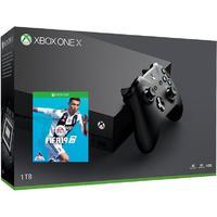 Microsoft - Xbox One X 1TB Console + Includes FREE FIFA 19 (Black)