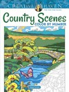 Creative Haven Country Scenes Color By Number - George Toufexis (Paperback)