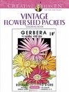 Creative Haven Vintage Flower Seed Packets Coloring Book - Marty Noble (Paperback)
