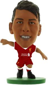 Soccerstarz - Liverpool Firmino - Home Kit (Number 11 - Old) (2018 Version) - Cover