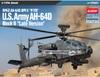 Academy - 1/72 - Hughes AH-64D Apache Block II Late Version (Plastic Model Kit)