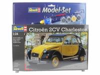Revell - 1:24 - Citroen 2CV Model Set (Plastic Model Kit) - Cover