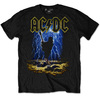 AC/DC Men's Tee: Highway to Hell Clouds (Large)