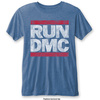 Run DMC Men's Fashion Tee: Vintage Logo (Burn Out) (Large)