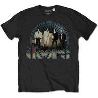 The Doors Men's Tee: Vintage Field (X-Large) - Cover