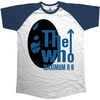 The Who Men's Raglan Tee: Maximum R & B (Small)