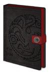 Game of Thrones - Targaryen Premium A5 Notebook