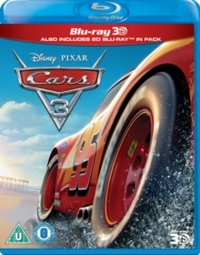 Cars 3 (Blu-ray) - Cover