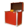 Red - 50 LP Record Storage Carry Case (Record Box)