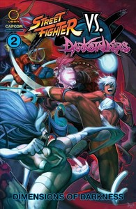 Street Fighter vs Darkstalkers 2 - Dimensions of Darkness - Ken Siu-Chong (Paperback) - Cover