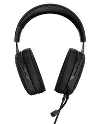 Corsair HS50 Binaural Head-band Carbon Stereo Gaming Headset - Black (PC/Gaming) - Cover