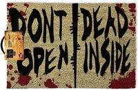 Walking Dead - Don't Open Dead Inside - Door Mat - Cover