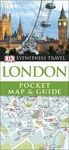 London Pocket Map and Guide - Dk Travel (Paperback)