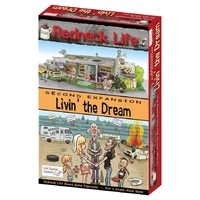 Redneck Life: Livin' the Dream! Expansion (Board Game) - Cover