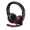 Gioteck - XH-100 Wired Stereo Headset - Black/Piano Black (PC/Gaming)