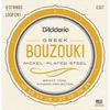 D'Addario EJ97 10-13 Nickel Plated Steel Greek Bouzouki Strings