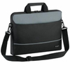 Targus Intellect 15.6 Inch Notebook Topload Case - Black and Grey