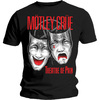 Motley Crue Theatre of Pain Cry Mens Black T-Shirt (XX-Large)