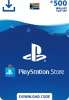 PlayStation Store Wallet Top Up - R500 (PS3/PS4/PS VITA)