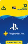 PlayStation Plus 12 Month Membership (PS3/PS4/PS VITA)