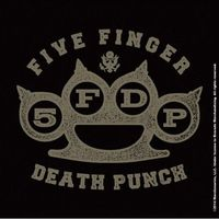 Five Finger Death Punch - Punch Brass Knuckle Coaster - Cover