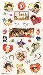 One Direction - Sticker Set