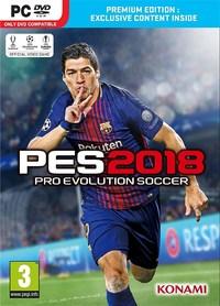 Pro Evolution Soccer 2018 - Premium Edition (PC) - Cover