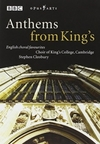 Anthems from King's - English Choral Favourites (DVD)