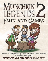 Munchkin Legends 2: Faun and Games (Card Game) - Cover