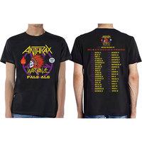 Anthrax Wardance Pale Alemen's Mens Black T-Shirt (Large) - Cover