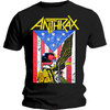 Anthrax Dread Eagle Mens Black T-Shirt (Medium)