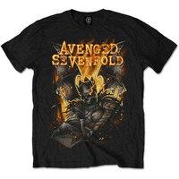 Avenged Sevenfold Atone Mens Black T-Shirt (Large) - Cover