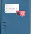 Filofax Clipbook A5 Petrol Blue