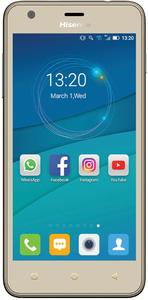 Hisense U962 5 Inch 8GB 3G Dual Sim Smartphone - Gold - Cover