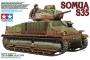Tamiya - 1/35 French Medium Tank SOMUA S35 (Plastic Model Kit)