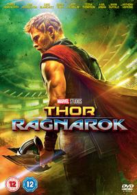 Thor: Ragnarok (DVD) - Cover