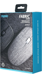 Rapoo - 3510 Plus Wireless Optical Mouse - Grey Fabric