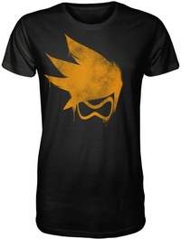 Overwatch - Tracer Spray Premium Mens T-Shirt (XX-Large) - Cover