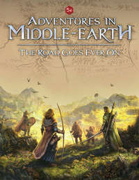 Adventures In Middle Earth - Road Goes Ever On (Role Playing Game) - Cover