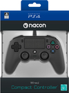 NACON - Wired Compact Controller for PlayStation 4 - Black (PS4/PC)