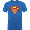 Superman Shield Boys Royal Blue T-Shirt (12-13 years)