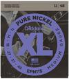 D'Addario EPN115 11-48 Pure Nickel Blues/Jazz Rock Electric Guitar Strings
