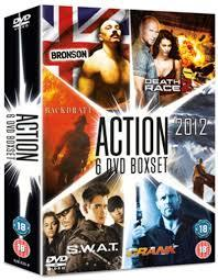 2012/Backdraft/Bronson/Crank/Death Race 2/S.W.A.T (DVD) - Cover