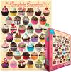Eurographics - Chocolate Cupcakes (1000 Pieces)