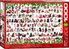 Eurographics - Christmas Puppies Puzzle (1000 Pieces)