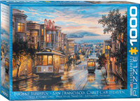 Eurographics - San Francisco Cable Car Heaven Puzzle (1000 Pieces) - Cover
