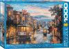 Eurographics - San Francisco Cable Car Heaven Puzzle (1000 Pieces)