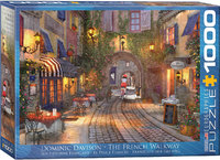 Eurographics - The French Walkway Puzzle (1000 Pieces) - Cover